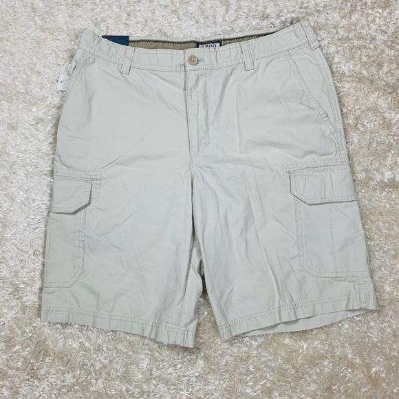 544953b3d3 Izod Shorts | Mens Nwt Size 34 Beige Stone Cargo | Poshmark